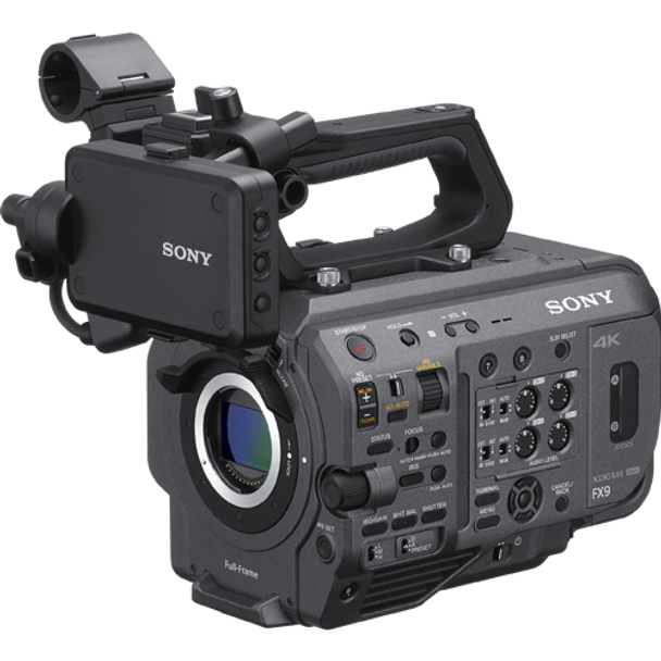 Sony PXW-FX9 XDCAM Full-frame Camera System with Fast Hybrid AF, Dual Base ISO and S-Cinetone color science.