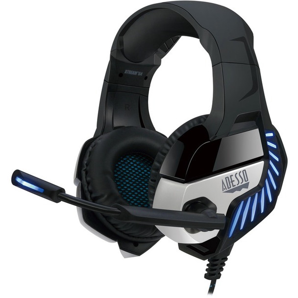 Adesso Virtual 7.1 Surround Sound Gaming Headset with Vibration - XTREAM G4