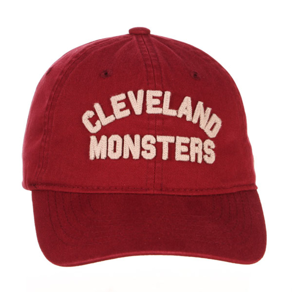 Stitched Text Adjustable Hat