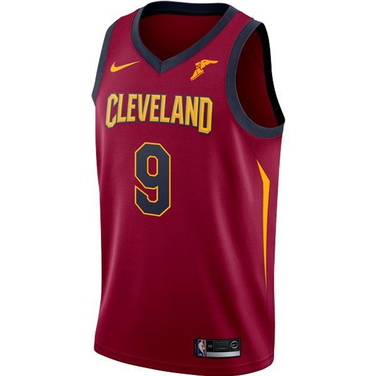 WINE   9 Channing Frye Jersey with Goodyear Wingfoot - Cleveland Cavaliers 4b1d97d70