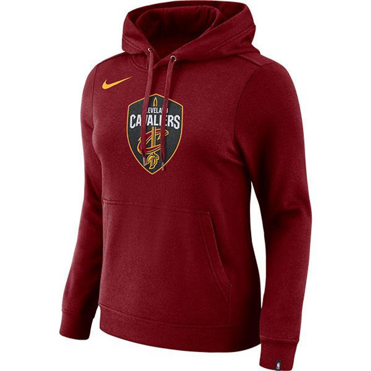 Ladies Nike Global Shield Hoodie - Cleveland Cavaliers 599a612a5d