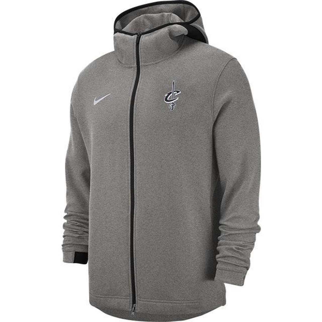 9ffd8af9e911 Nike Gray Showtime Full Zip Hoodie