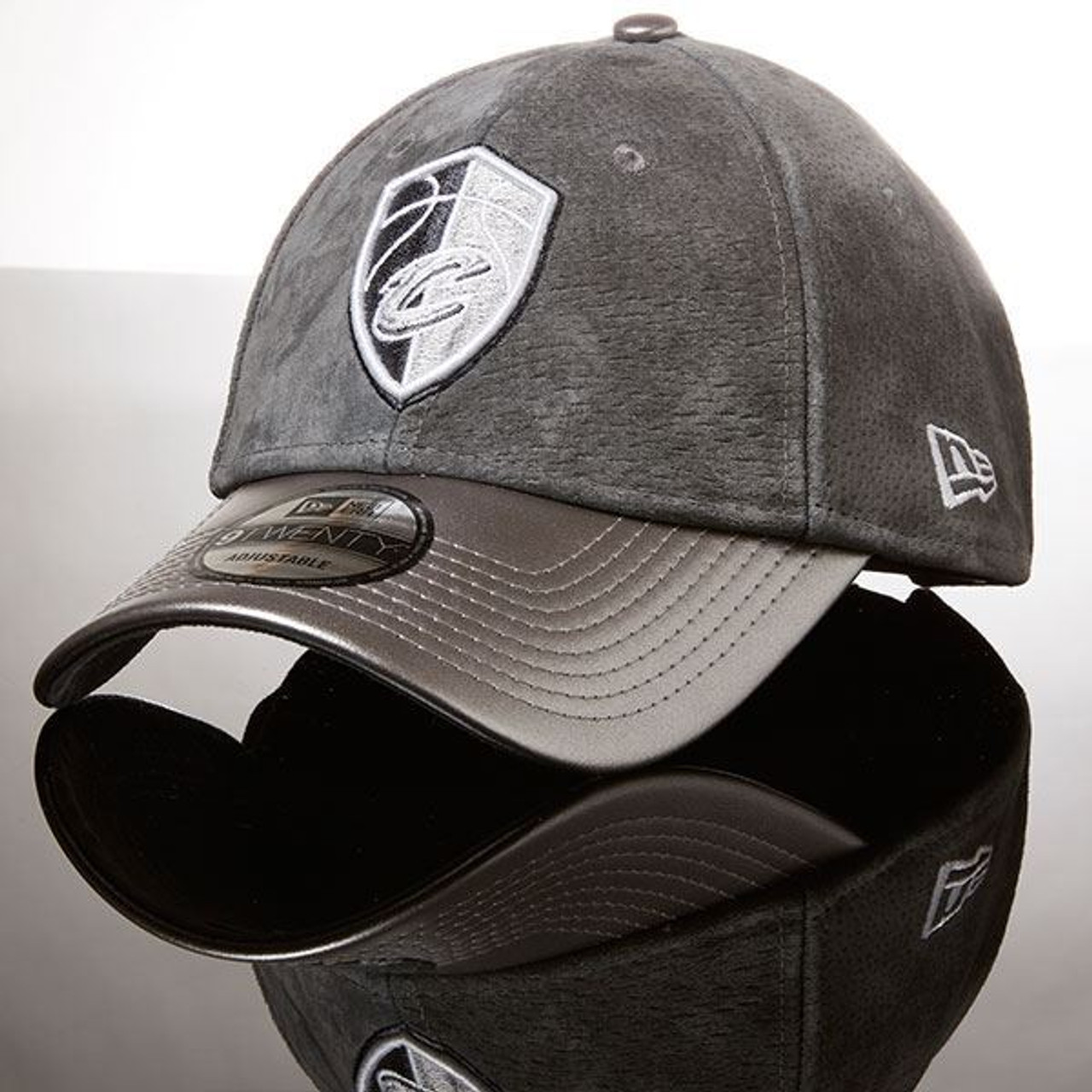 Sixteen Series Suede   Leather City Edition Adjustable Cap with Case -  Cleveland Cavaliers 11efde39123b