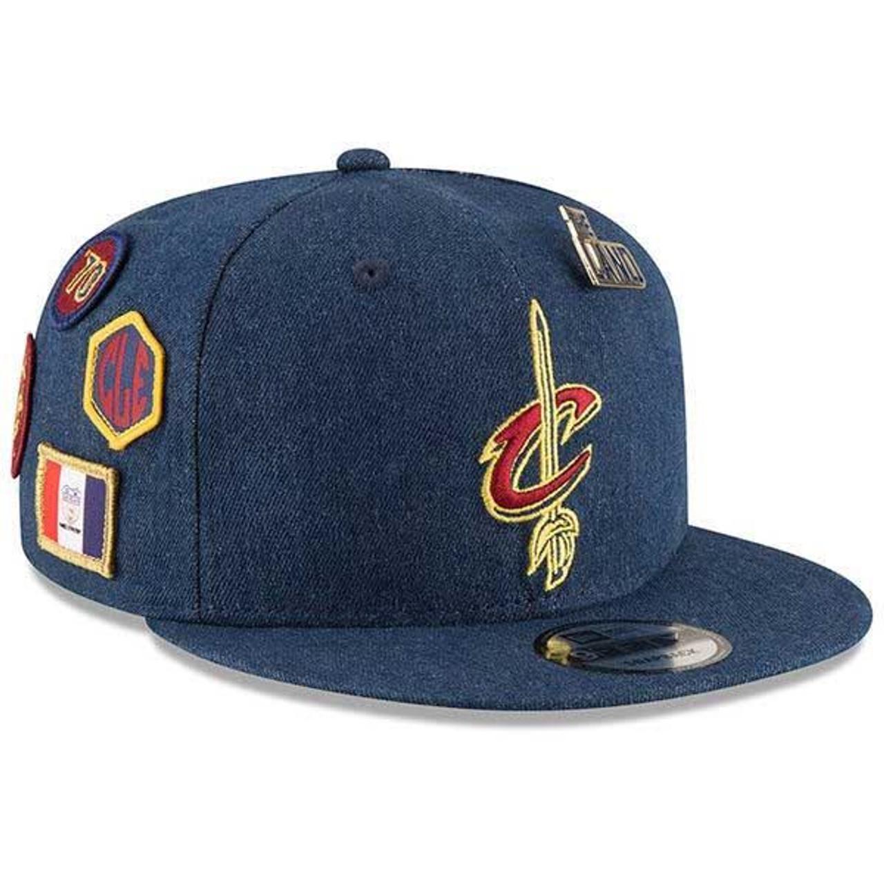 watch abbf1 900f3 18-19 Draft Series Snapback Denim Cap - Cleveland Cavaliers