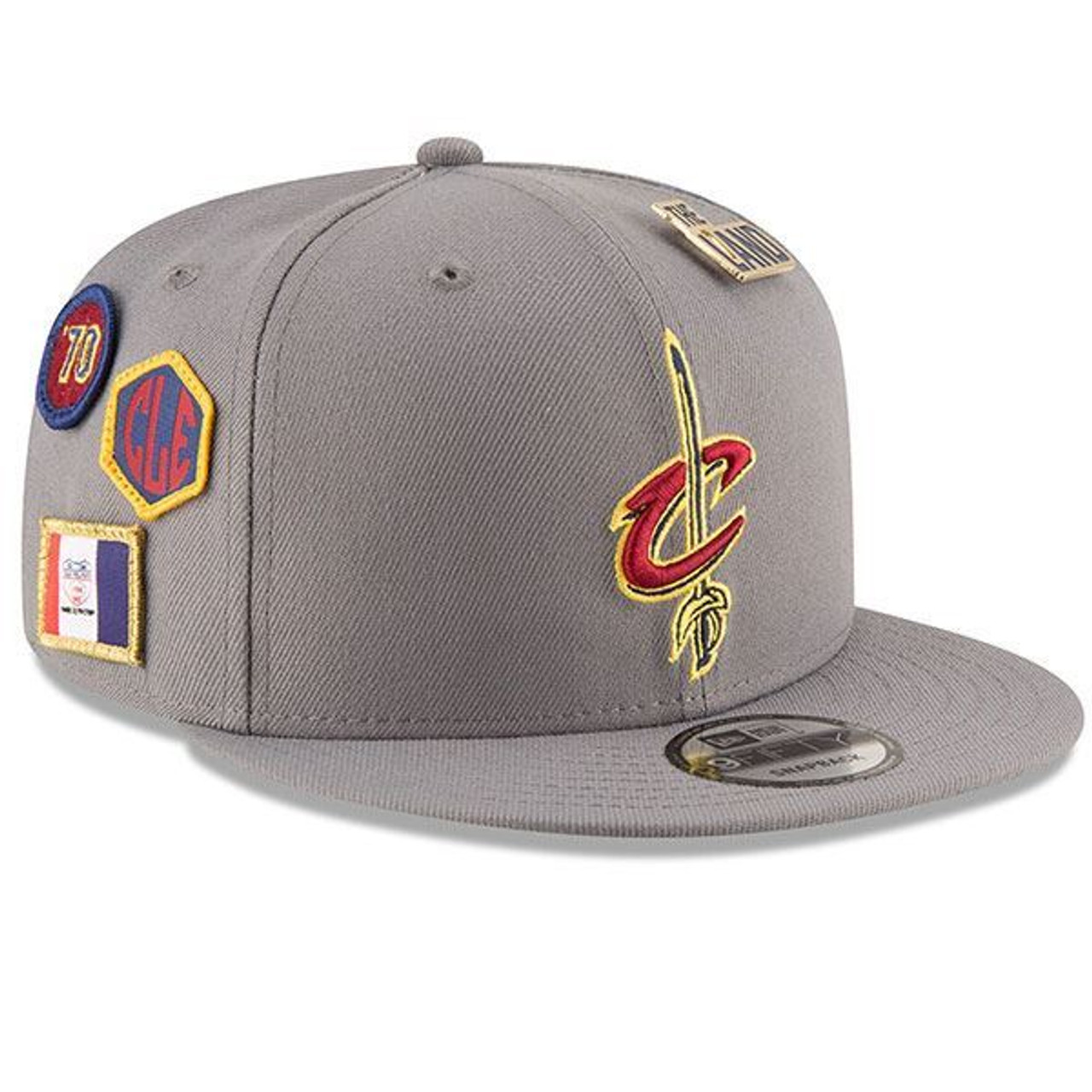Youth 18-19 Draft Series Gray Snapback Cap - Cleveland Cavaliers ac69299dbbc