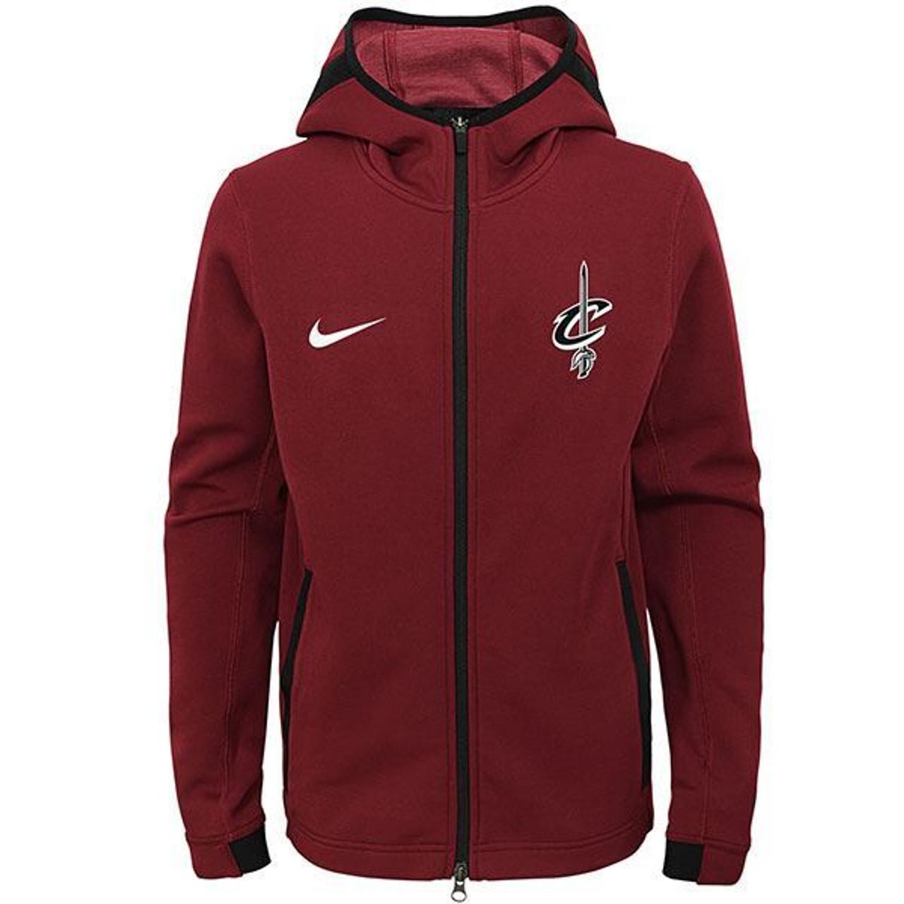 e3f38132ca6e Yth Nike Cavs Dry Showtime FZ - Cleveland Cavaliers
