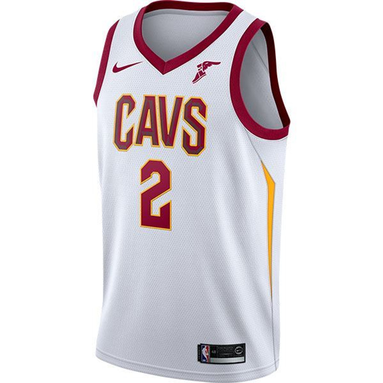 26369d21a607  WHITE   2 Collin Sexton Jersey with Wingfoot - Cleveland Cavaliers