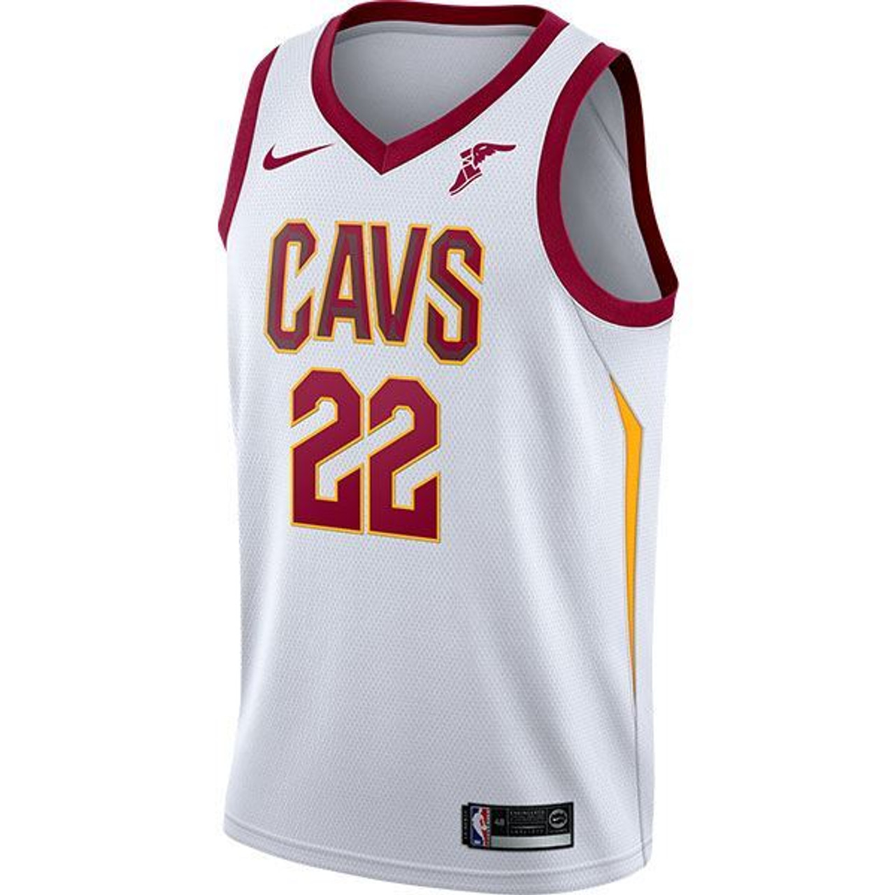 new arrive 279cb 94a8a [WHITE] Big Kids #22 Larry Nance Jr. Jersey with Wingfoot