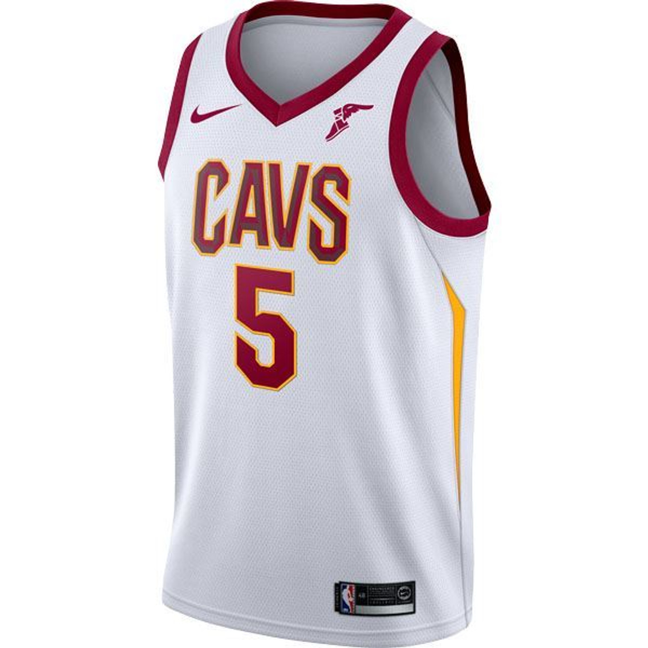 ... australia white big kids 5 jr smith jersey with wingfoot cleveland  cavaliers e886d bb78e f26213948