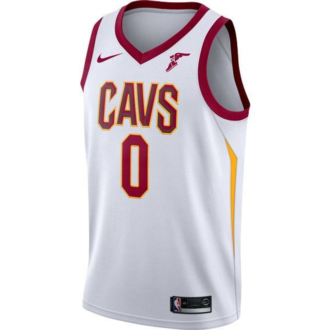 [WHITE] Big Kids #0 Kevin Love Jersey with Wingfoot