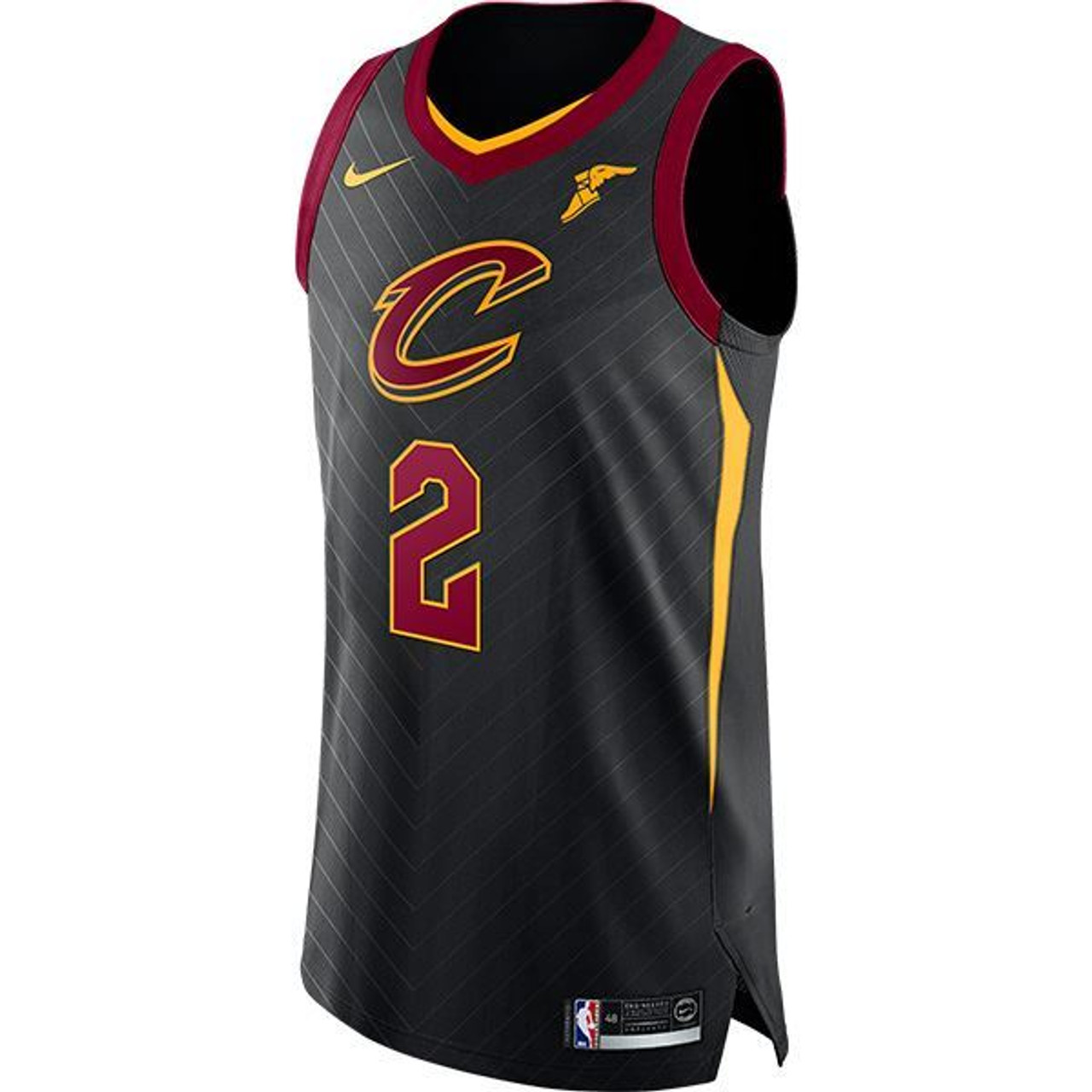 buy online 56f7f 02c59 [BLACK] Collin Sexton Authentic Jersey with Goodyear Wingfoot
