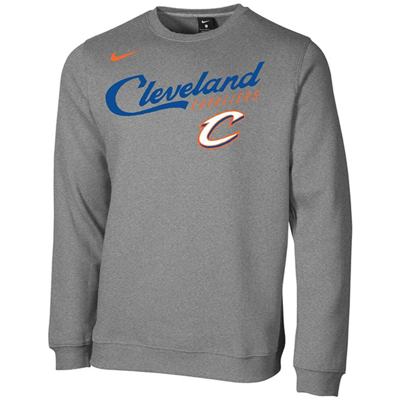 dc2a99bbbb52 Cleveland City Edition Fleece Crew by Nike