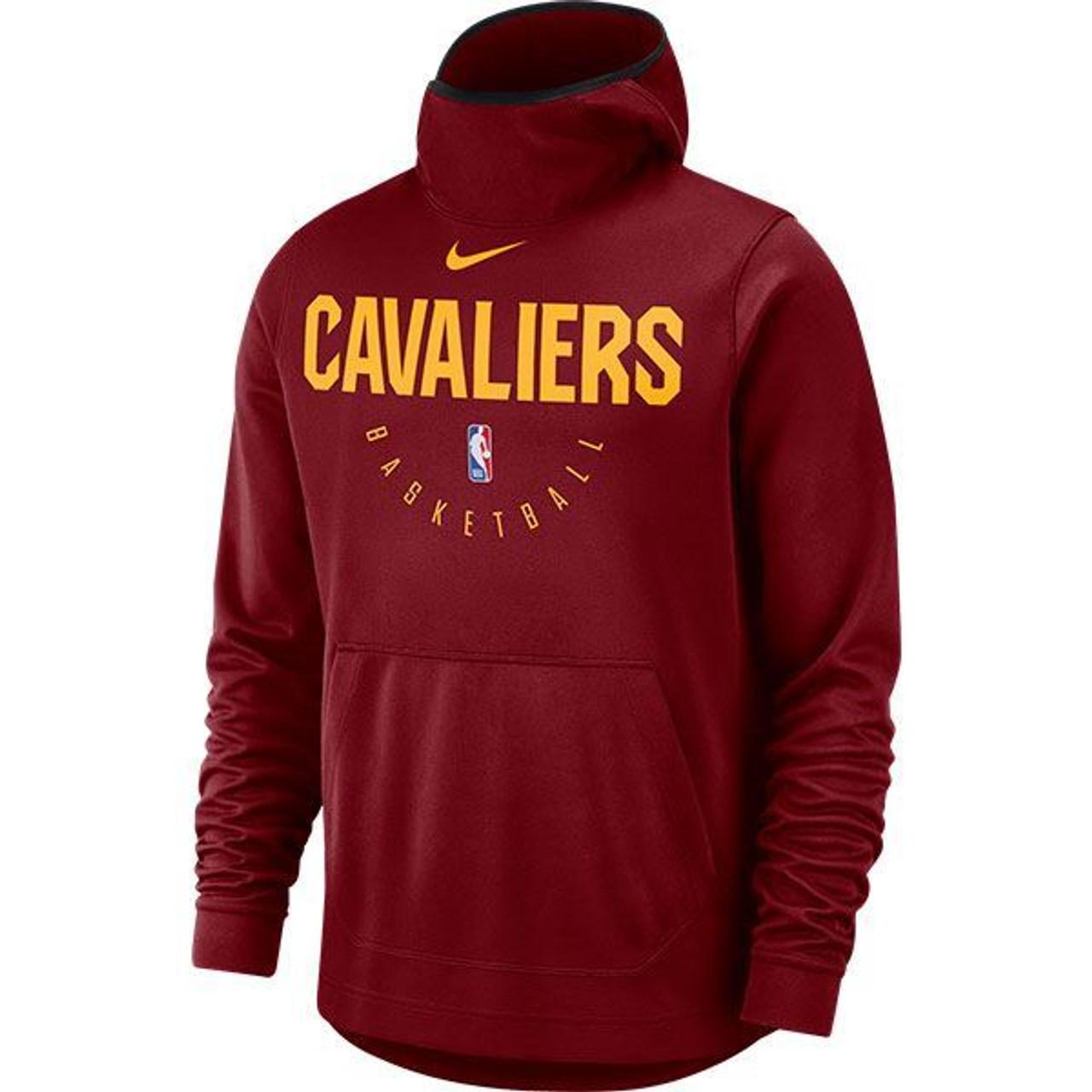 706aa4ef583e Nike Wine Spotlight Hoodie - Cleveland Cavaliers Team Shop