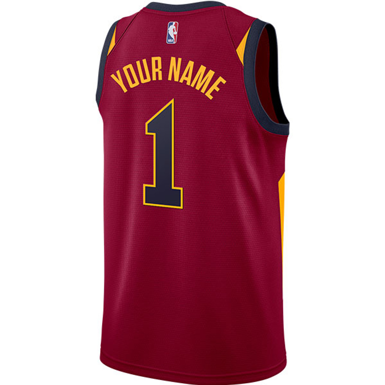 df6bc3256574 Add your name and number to your very own Cavaliers Icon Edition jersey!   Sample