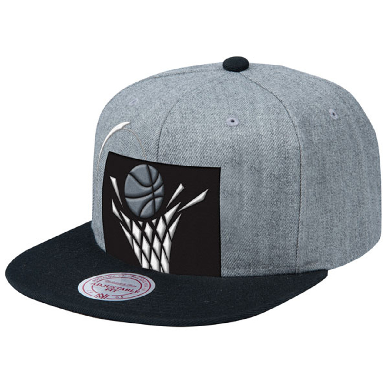 06a2d4461c8 90s Logo Tonal Snapback by Mitchell   Ness