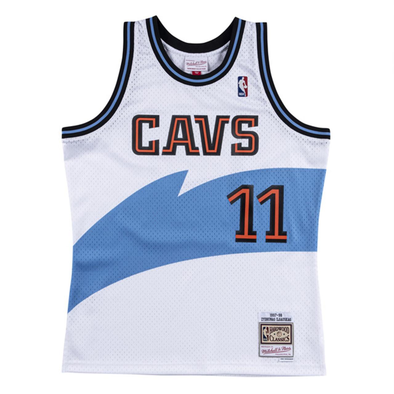 cavaliers white jersey