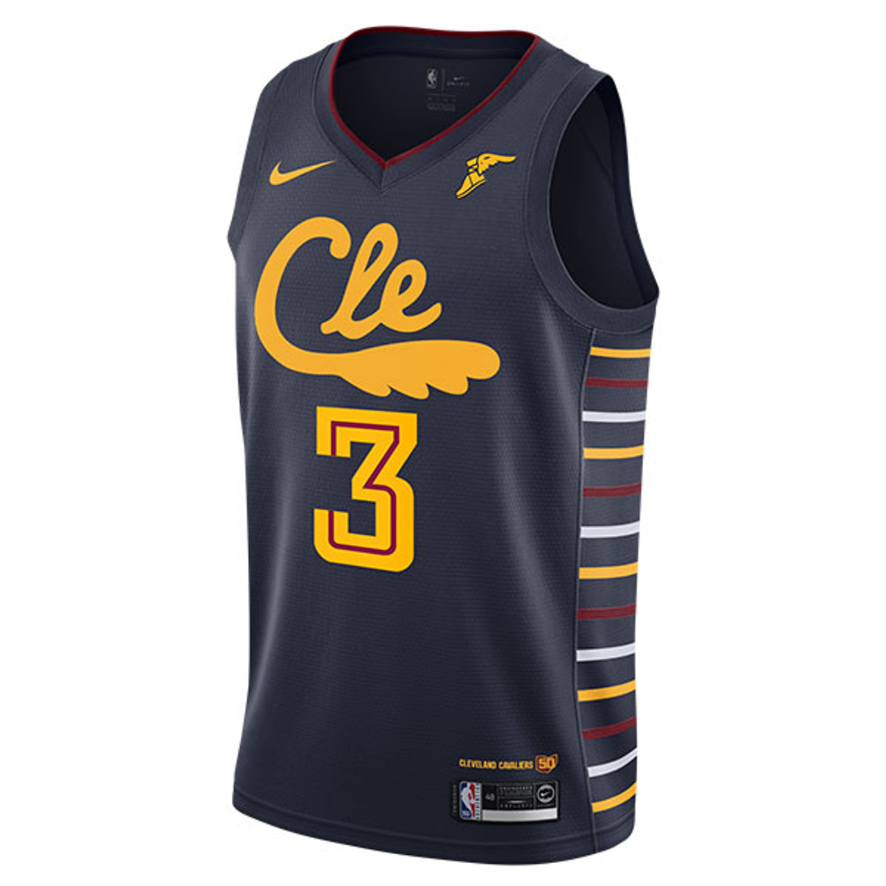 [CLE] Andre Drummond Jersey with Wingfoot