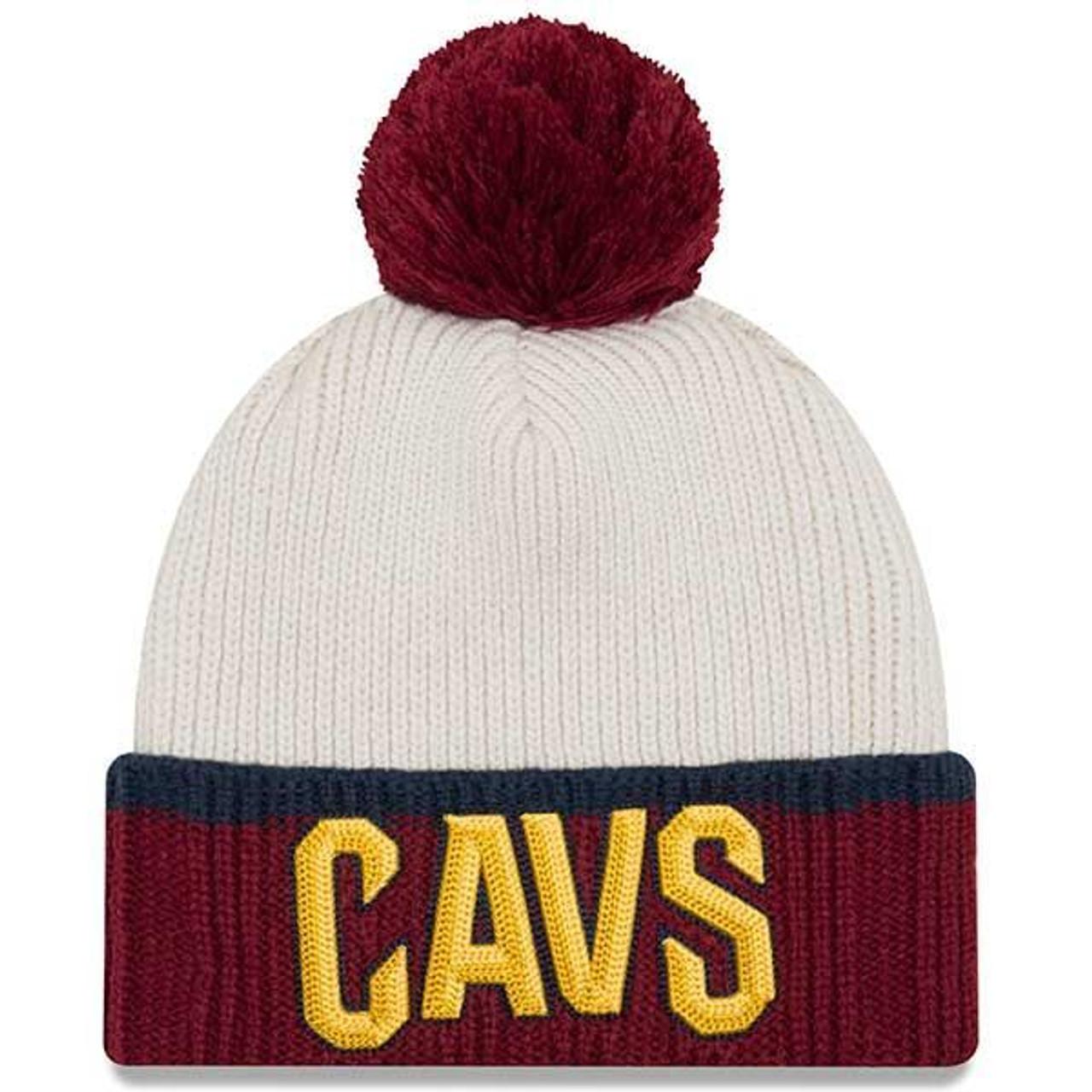 Prime Pom Knit Hat - Cleveland Cavaliers f57b2e0d9eb
