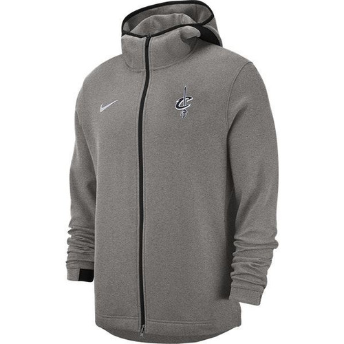 d7c8b558f35a Ladies Nike Wine Showtime Full Zip Hoodie - Cleveland Cavaliers