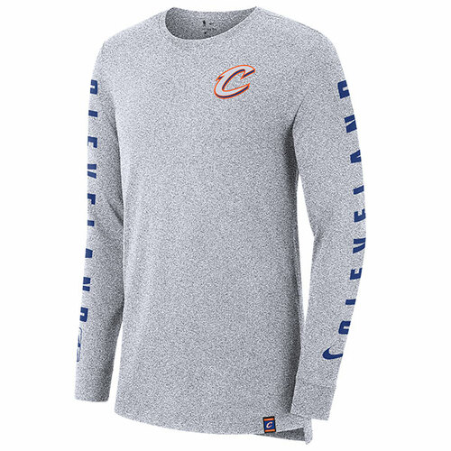 Cleveland City Edition Long Sleeve Tee in Gray d51fe9325