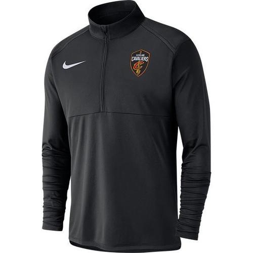 Nike Black Global Shield Element Quarter Zip - Cleveland Cavaliers 389a22b4cd86