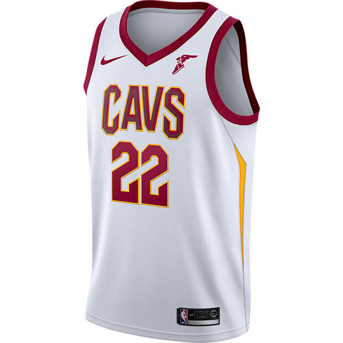 f5f8431367f 22 Larry Nance Jr. Icon Jersey  Wingfoot Patch  - Cleveland ...