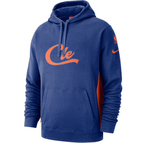 City Edition Courtside Hoodie in Royal 95e3dd447