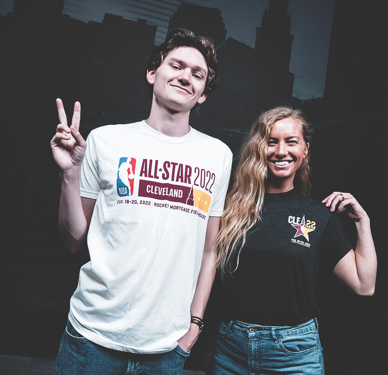 Gear up for the 2022 NBA All-Star Game in Cleveland, Ohio!