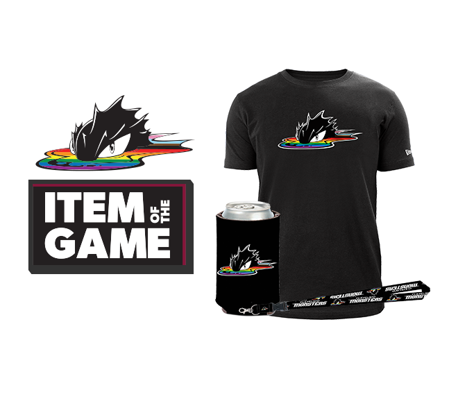 You asked, we delivered! Celebrate your Pride with the official Cleveland Monsters Pride Collection. A portion of proceeds benefits Pride in the CLE, presented by the LGBT Community Center of Greater Cleveland.