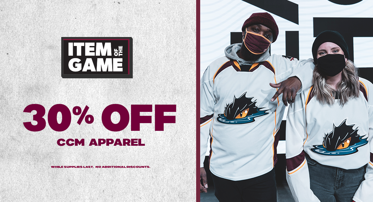 Take 30% OFF official Monsters gear from CCM!