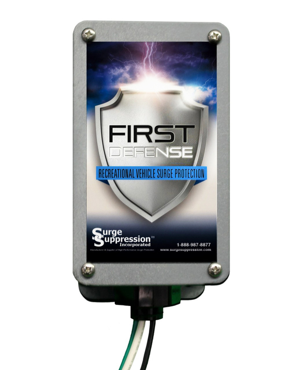 First Defense Hardwired RV Surge Protector