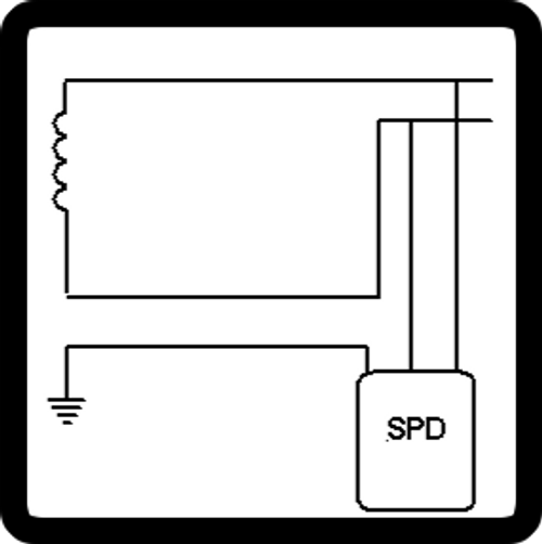 Spike Stopper Single Phase 120 V (2 wire + ground)