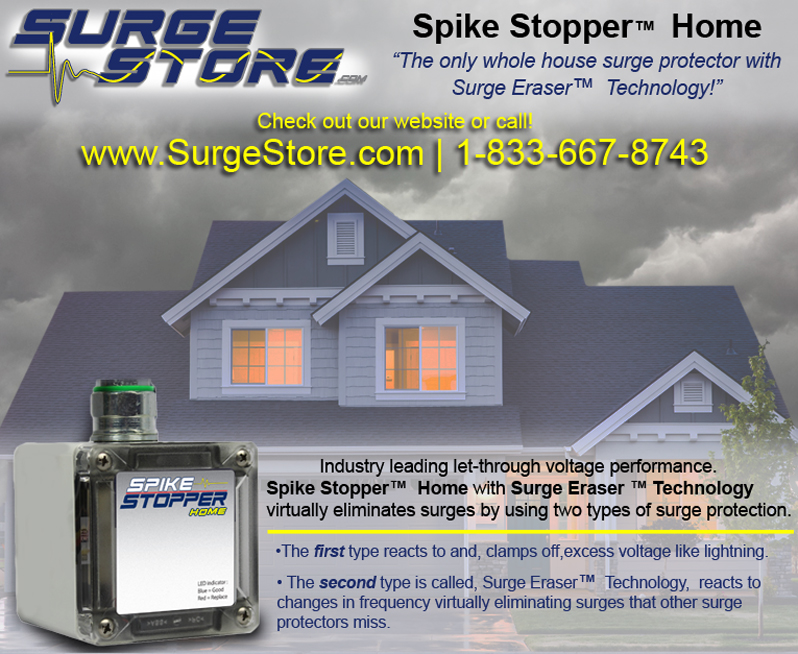 Spike Stopper® Home whole house surge protection
