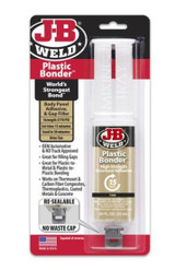 J-B Plastic Bonder Body Panel Adhesive, Filler And Sealer 50133UK Fiberglass Metal Ceramic Home Repairs Auto Repairs PVC FTB2469 043425700148