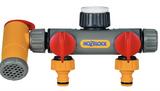 Hozelock 22500000 3 way Tap Connector FTB6021 5010646021876