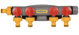 Hozelock 2150R0000 4 way Tap Connector FTB6020 5010646021876