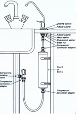 CALSLIM R Complete DIY Under Sink Water Filter Kit Saves money no need to buy expensive bottled water FTB870 5055639139282