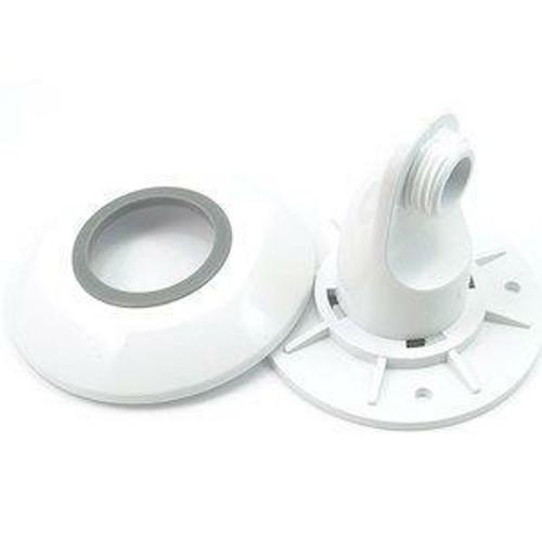 Aqualisa 215015 Varispray Adjustable Shower Head Wall Outlet/Cover Plate - White FTB6613 5023942008274