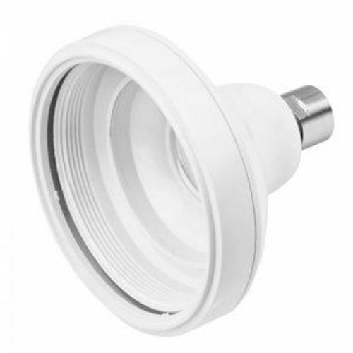 Aqualisa 164622 shower head shell for metal arm - White FTB6685 5023942006997