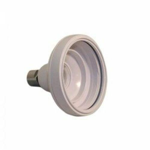 Aqualisa 164624 shower head shell for plastic arm - White FTB6686 5023942009011