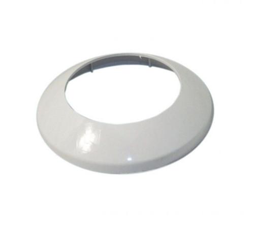 Aqualisa 164642 Varispray Fixed Shower Head Cover Plate - White FTB6689 5023942007079