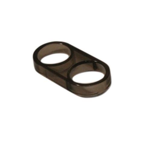 Aqualisa 215007 25mm shower hose retaining ring - smoke effect FTB6748 5023942008236