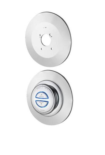 Aqualisa QZDB3RWP.14 Shower controller wall plate Quartz Digital FTB12023 5023942088993