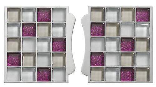 Aqualisa Sse004 Sassi Electric Mosaic Tile Inlays - Pink FTB12481 5023942104495