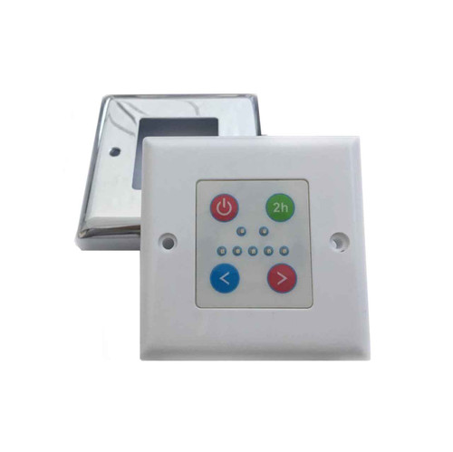 Heated Towel Rail Temperature Controller Stainless Steel Tcp200 2 Hour Boost FTB758 639767928014