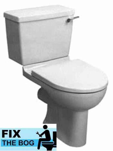 Ideal Standard White Brasilia Toilet Seat And Cover With Chrome Hinges FTB2155 5055639140837