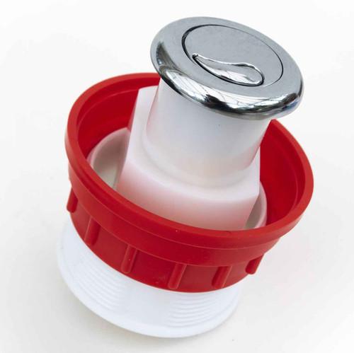 Dudley Cp Miniflo Pneumatic Button 51Mm Dia Dual Flush 322905 FTB2043 5055639141551