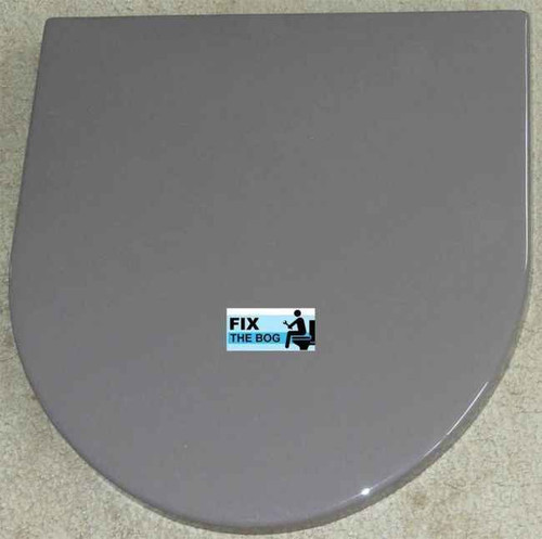 Ideal Standard Bali Brown Brasilia Toilet Seat And Cover With Chrome Hinges FTB2132 5055639140608
