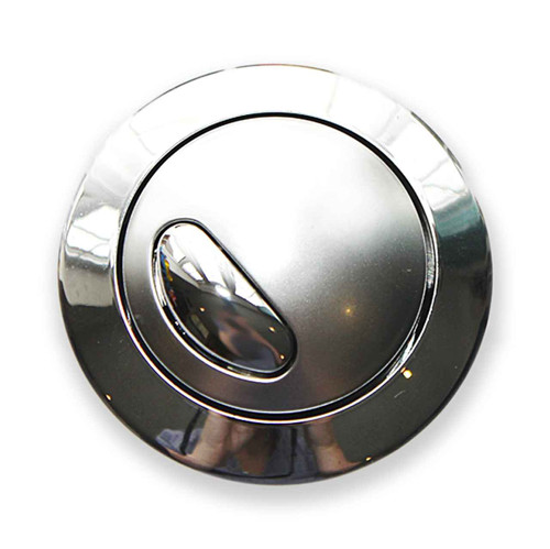 Siamp Optima 49 Toilet Push Button Dual Flush Water Saving Chrome Effect Bandq FTB1521 5055639142855