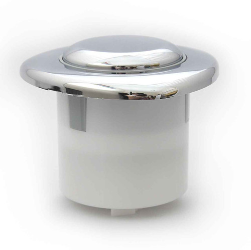 Siamp Single Flush Chrome Plated Button Pneumatic Value FTB087 5055639139428